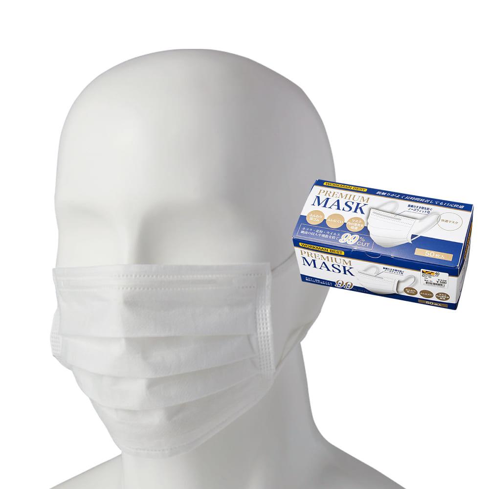 マスク ワークマン