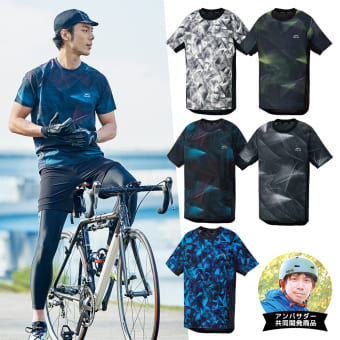 MOVE ACTIVE CYCLE(ムーブアクティブサイクル) 半袖Tシャツ